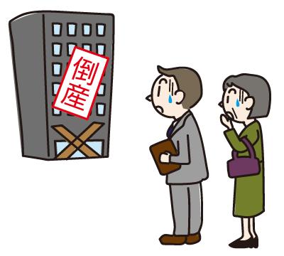 申込み先や預け先の金融機関が倒産したらどうなるの?