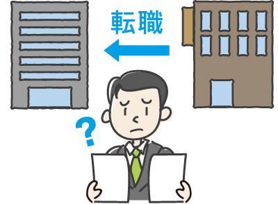 転職(中途退職)したら資産の移換が必要